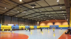 Hitecnico 160W LED Flood Lights Successful Project France Sports Lighting