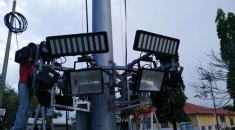 Hitecnico 400W LED Luminaires to Replace 1000W MH in High Mast Lighting